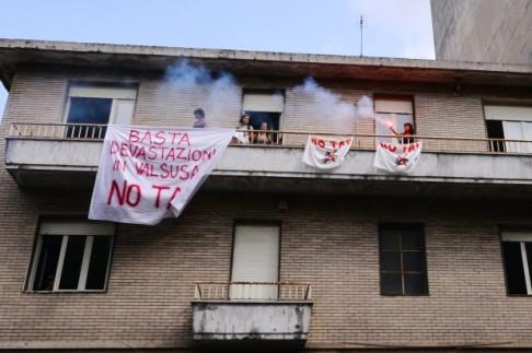 Occupazione Geovalsusa 2012 (foto notav.info)
