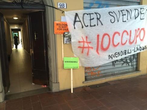 Occupazione #iodecido (foto fb Làbas)