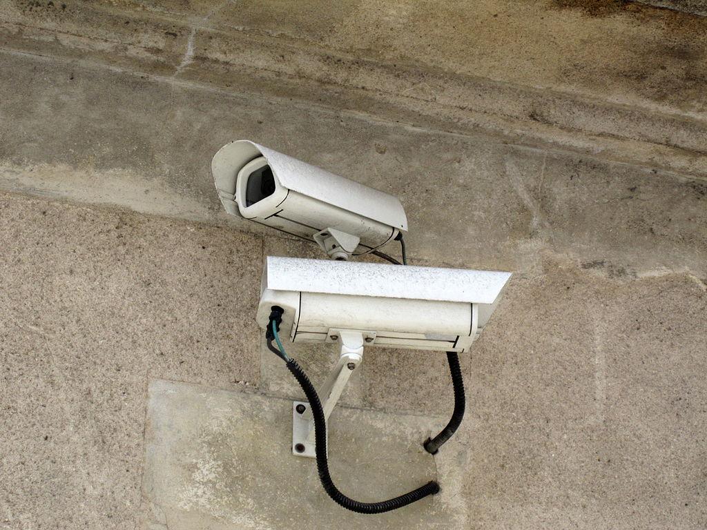 Telecamere di videosorveglianza (foto Pierre-Alain D'Orange)