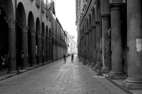 Via Zamboni (foto di Fabio Duma)