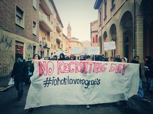No Recruiting day (foto fb Hobo)