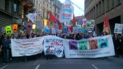 Sciopero sociale @ BlockupyBce (foto ∫connessioni precarie)