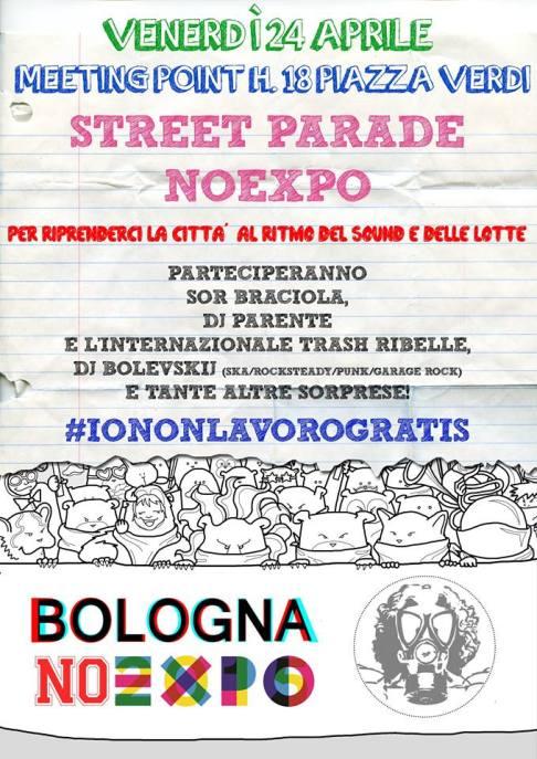 Street parade NoExpo