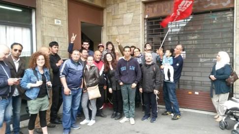 Picchetto (foto fb Social Log)