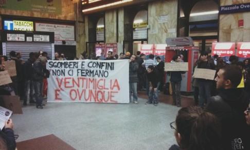 No Border Ventimiglia (foto fb HoboBologna)