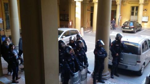 (foto repertorio Assemblea Scienze Politiche Bologna)