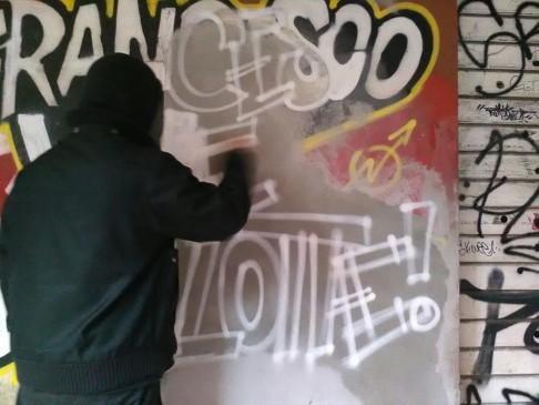 Murales Francesco Lorusso (foto fb Cua)