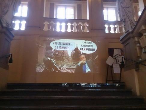 (foto fb Assemblea Scienze Politiche Unibo)