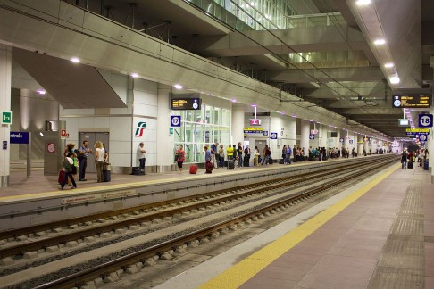 Stazione sottorranea (foto Incola)