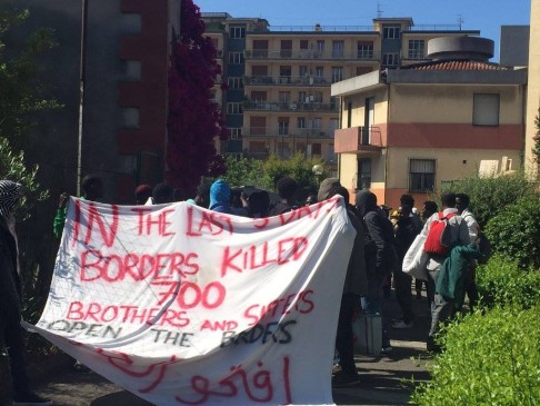 Fb - Presidio Permanente No Borders - Ventimiglia