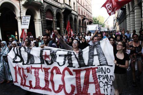 Corteo Bologna Meticcia 26/06/2014 (foto di Flavia Sistilli - repertorio Zic.it)