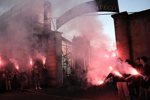 Corteo #civediamoingiro (foto di Flavia Sistilli)