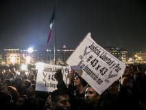 Manifestazione a Città del Messico per i desaparecidos di Ayotzinapa, settembre 2014 - © Giulia Iacolutti