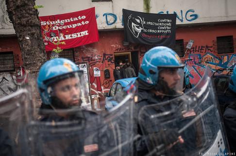 Sgombero Taksim (© Michele Lapini)