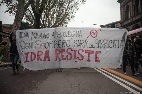 Sgombero Idra - © Michele Lapini