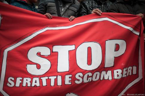 Stop sfratti - © Michele Lapini