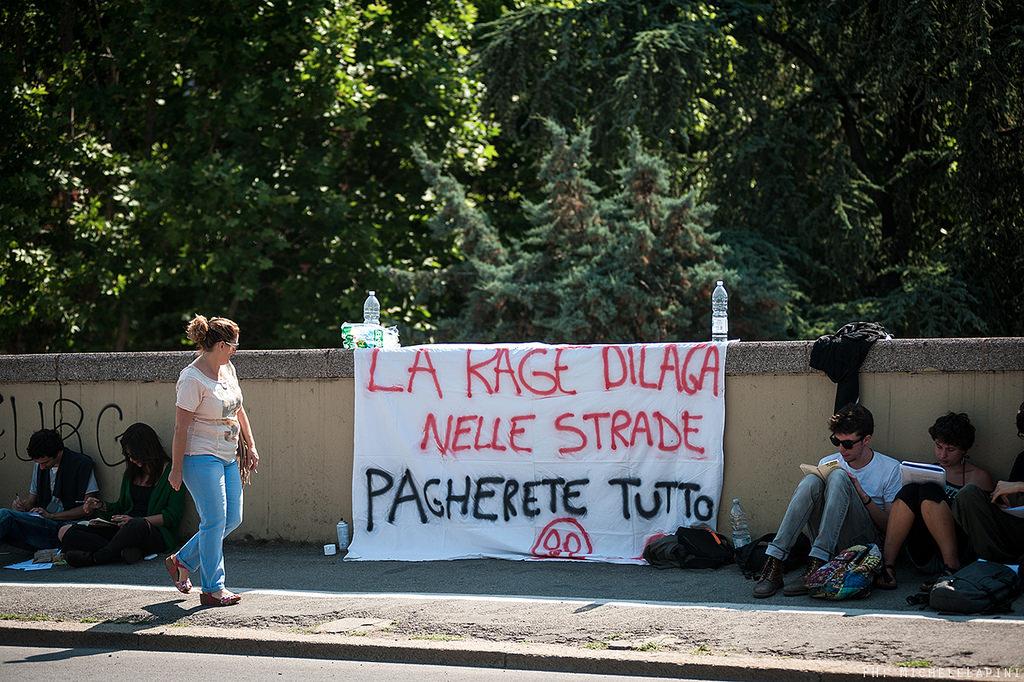 Sgombero La Rage - © Michele Lapini