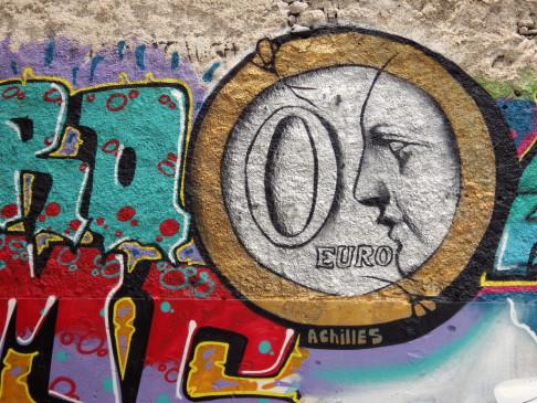 Murales di Achilles ad Atene (foto da flickr @aestheticsofcrisis)