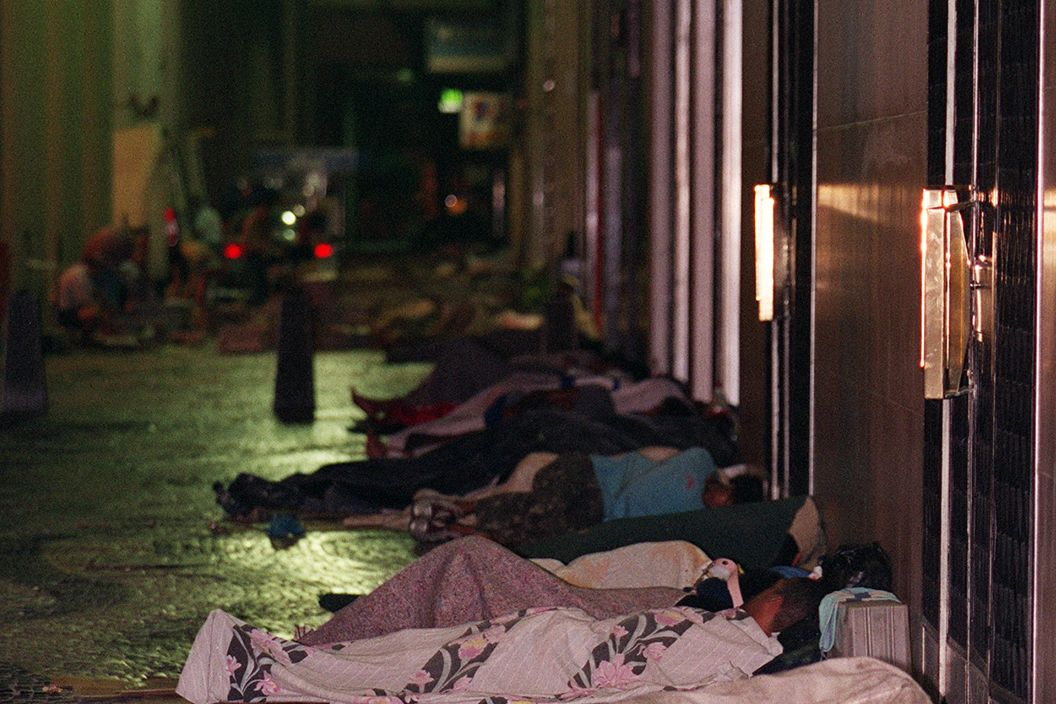 Senza dimora, homeless (foto Senza dimora, homeless (foto Andréa Farias)