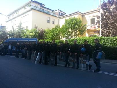 Sgombero di Taksim (foto Zic)