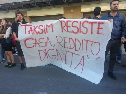 Sgombero di Taksim (foto di Taksim)