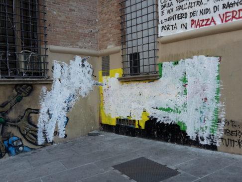 Murales imbrattati - Foto Zic
