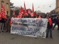 Manifestazione a Modena (foto Si Cobas)