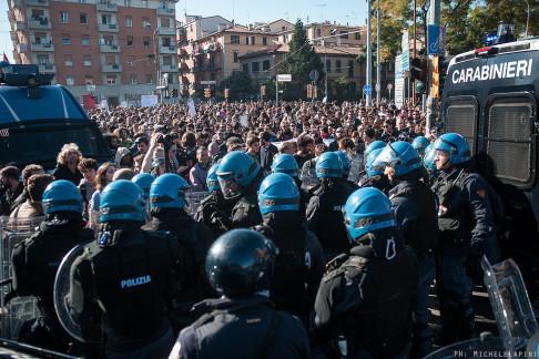 Porta Mascarella, 8 novembre 2015 - © Michele Lapini