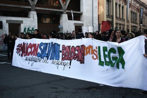 Bologna non si lega - foto di Flavia Sistilli