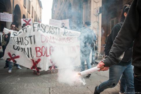 Corteo contro Salvini - © Michele Lapini