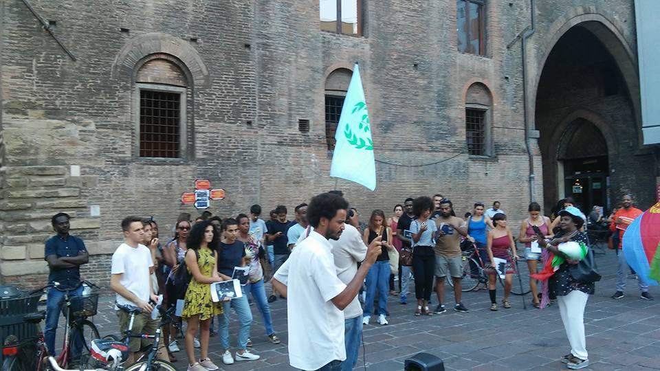 """Anche a Bologna in piazza """"contro schiavitù e violenze in Libia ..."""