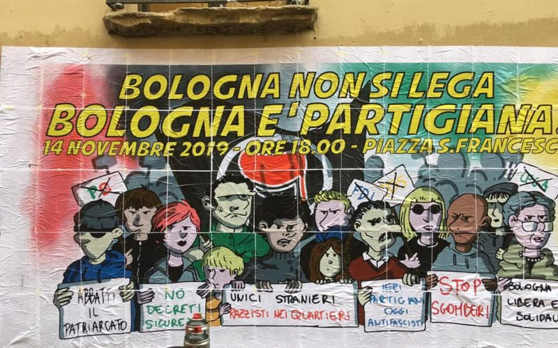 Bologna non si lega (foto Cua)