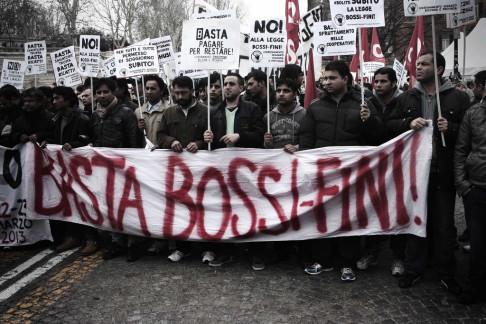Manifestazione migranti (foto di Giulio Cicanese - repertorio)