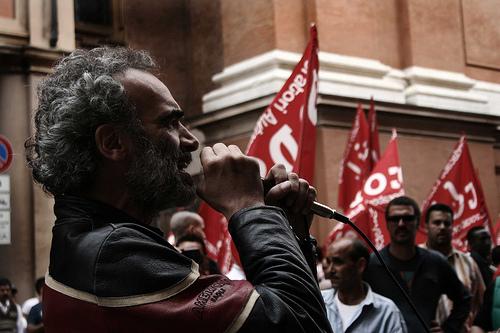 Corteo lavoratori logistica 1 giugno 2013 (Foto Flavia Sistilli)