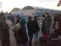 Picchetto Mirror (foto da twitter @LaboratorioCrash)