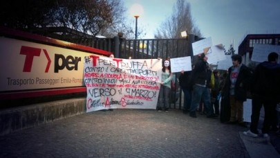 Cas: Tper truffa (foto da twitter @CasBologna)