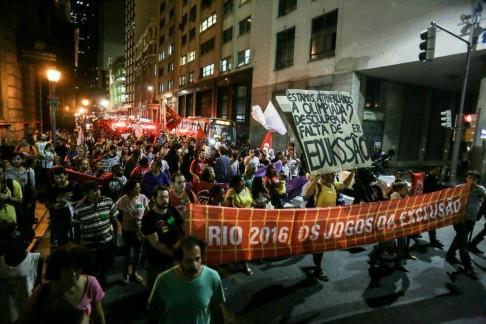 Brasile proteste Rio 2016 (foto Midia Ninja)