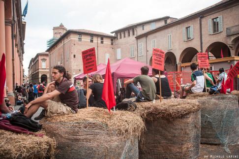 Barricate piazza Verdi - foto © Michele Lapini