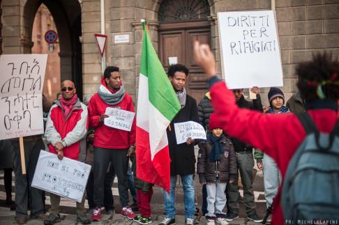 (Presidio Migranti - © Michele Lapini)