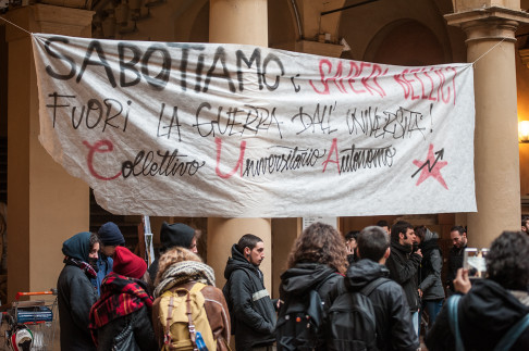 Assemblea Cua a Scienze Politiche - Foto Zic