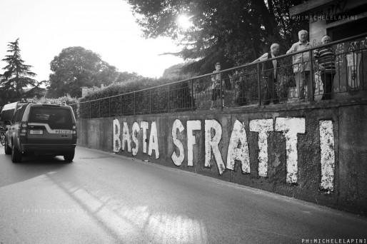 Basta sfratti - © Michele Lapini