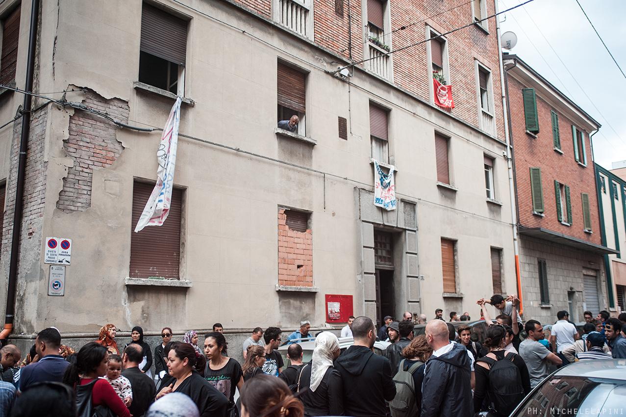 Digos a Condominio De Maria (© Michele Lapini)