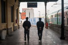 Polizia in Stazione Centrale - © Michele Lapini