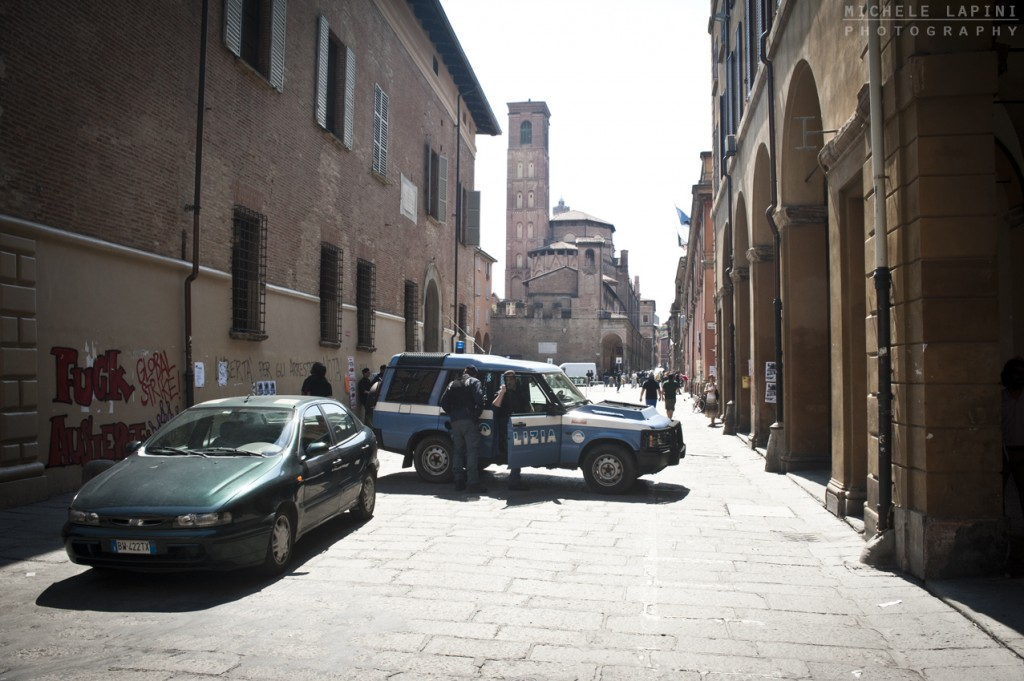 Piazza Verdi blindata (repertorio - © Michele Lapini)