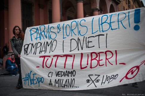 Corteo Parvis e Loris liberi - © Michele Lapini