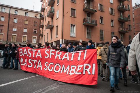 Sgombero Social Log - © Michele Lapini