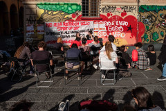 Assemblea piazza Verdi - © Michele Lapini