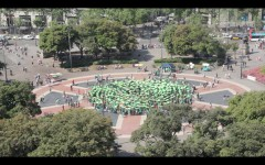 Foto 5 - Manifestazione a prac¦ºa catalunya