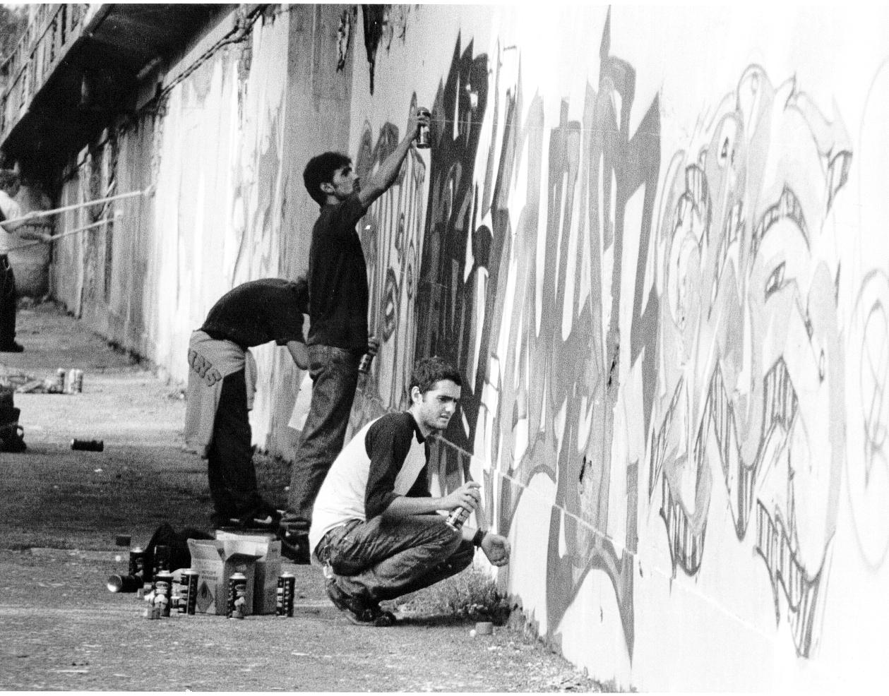 Graffitisti Centro Cavallaz