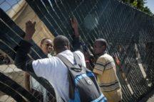Foto di Heriberto Paredes haitiani-tijuana